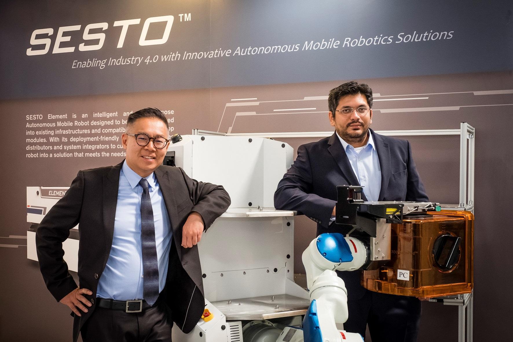 SESTO Robotics attends HANNOVER MESSE