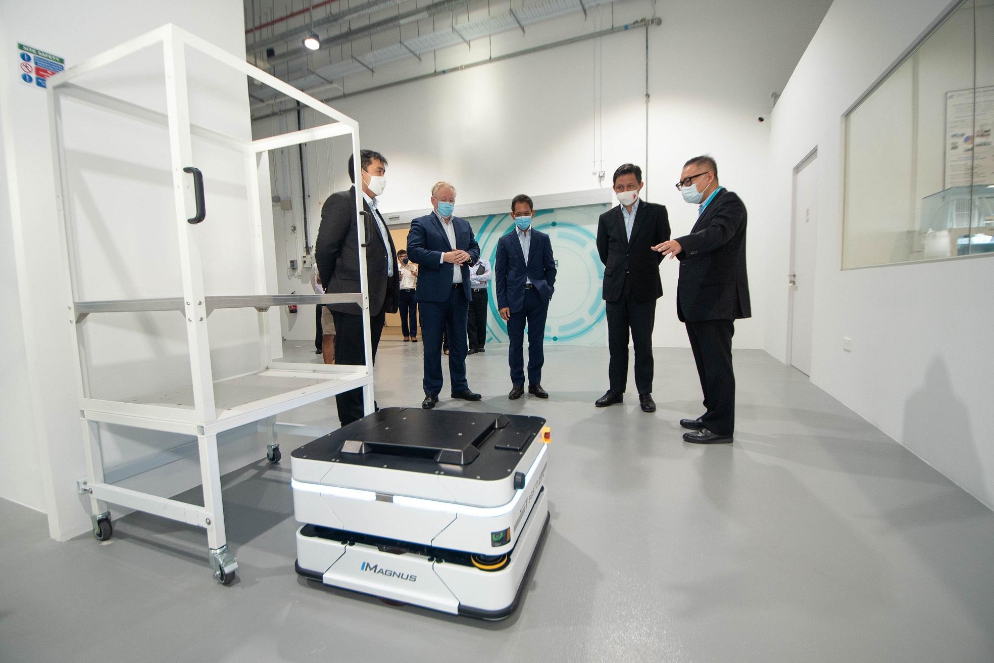 SESTO Robotics - Technology Partner at the Siemens Advance Manufacturing Transformation Centre (AMTC)